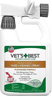 Vet's Best Flea and Tick Yard and Kennel Spray | Yard Treatment Spray Kills..