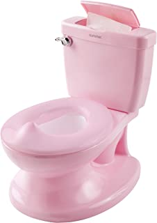 Summer My Size Potty, Pink – Realistic Potty Training Toilet Looks and Feels Like an..