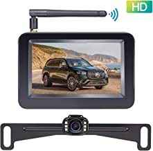 LeeKooLuu F08 HD Wireless Backup Camera and 4.3'' Monitor System for..
