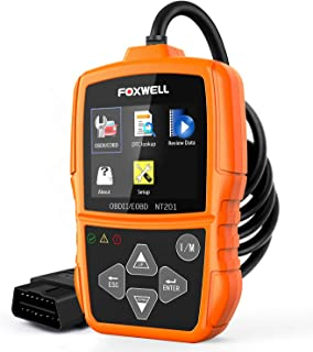 FOXWELL NT201 OBD2 Scanner Check Engine Light Car Code Reader OBD II Diagnostic Scan..