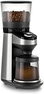 OXO BREW Conical Burr Coffee Grinder with Integrated Scale,Silver,Burr Grinder