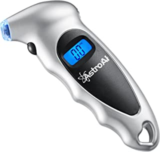 AstroAI Digital Tire Pressure Gauge 150 PSI 4 Settings for Car Truck Bicycle with Backlit..