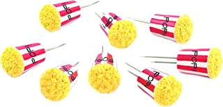 Charcoal Companion CC5156 Corn Holders (Set of 4), Popcorn
