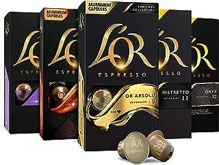 L'OR Espresso Capsules Single Cup Aluminum Coffee Pods Compatible with Nespresso..