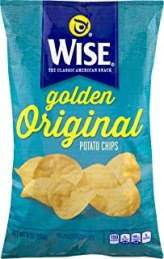 Wise Foods Golden Original Potato Chips 9.0 oz. Bag (3 Bags)