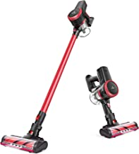MOOSOO Cordless Vacuum, 23Kpa 4-in-1 Stick Vacuum Cleaner Brushless Motor Ultra-Quiet..