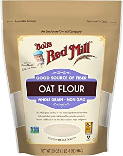 Whole Grain Oat Flour, 20 Ounce (Pack of 1)