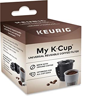 Keurig My K-Cup Universal Reusable K-Cup Pod Coffee Filter, Compatible with All 2.0..