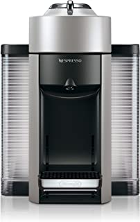 Nespresso by De'Longhi Vertuo Evoluo Coffee and Espresso Machine by De'Longhi, Silver
