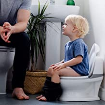 Nuby My Real Potty Training Toilet with Life-Like Flush Button & Sound for Toddlers..