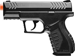 Elite Force Umarex Combat Zone Enforcer 6mm BB Pistol Airsoft Gun, Black