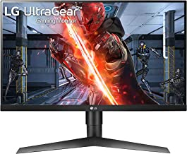 LG 27GL650F-B 27 Inch Full HD Ultragear G-Sync Compatible Gaming Monitor with 144Hz..