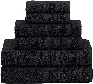 American Soft Linen 6-Piece 100% Turkish Genuine Cotton Premium & Luxury Towel Set..