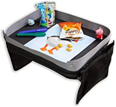 Modfamily Travel Tray for Kids-Lap Desk Organizes Snacks and Activities for Car,..