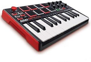 Akai Professional MPK Mini MKII – 25 Key USB MIDI Keyboard Controller With 8 Drum Pads,..