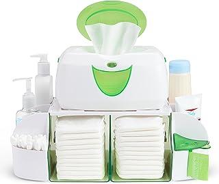 Munchkin Diaper Duty Organizer, Green/White
