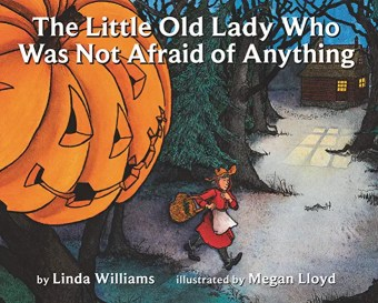 Not So Scary Halloween Books for Kids - The Little Old Lady Who Was Not Afraid of Anything