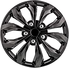 """Pilot Automotive WH555-16GM-B 16 Inch 16"""" Universal Fit Spyder Wheel Cover 