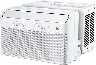 Midea U Inverter Window Air Conditioner 8,000BTU, U-Shaped AC with Open Window..