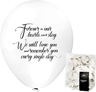 TOKYO SATURDAY Bereavement Funeral Celebration Balloons Decorations kit –..
