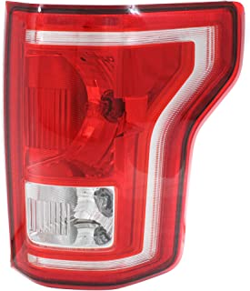 Tail Light Assembly Compatible with 2015-2017 Ford F-150 Halogen All Cab Types –..