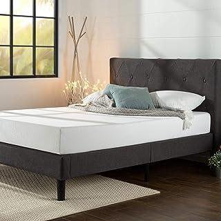 ZINUS Shalini Upholstered Platform Bed Frame / Mattress Foundation / Wood Slat Support /..