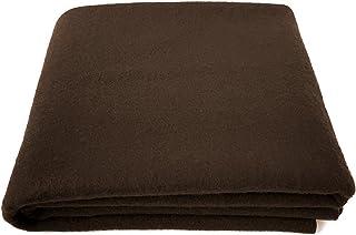 "EKTOS 80% Wool Blanket, Light & Warm 3.7 lbs, Large Washable 66""x90"" Size,.."
