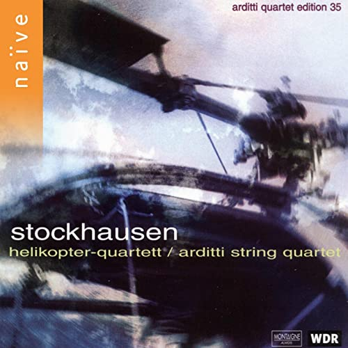Stockhausen: Helikopter-Streichquartett de Arditti String Quartet sur Amazon Music - Amazon.fr