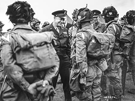 Amazon.com: D-DAY Poster World War 2 Poster 101st Airborne Dwight  Eisenhower 18x24: Posters & Prints