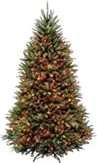 National Tree Company lit Artificial Christmas Tree Includes Pre-Strung Multi-Color Stand..