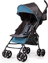 Summer 3Dmini Convenience  Stroller, Blue/Black – Lightweight Infant Stroller with..