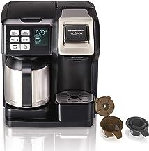 Hamilton Beach FlexBrew Thermal Coffee Maker, Single Serve & Full Pot, Compatible..
