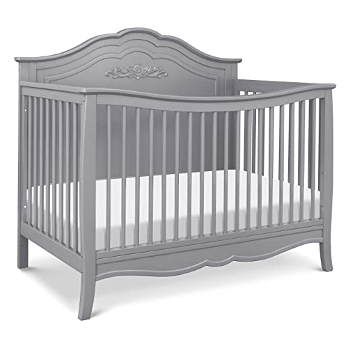Product Image 1: DaVinci Fiona 4-in-1 Convertible Crib in Grey