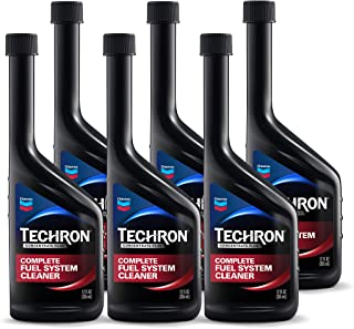 Chevron 67740-CASE Techron Concentrate Plus Fuel System Cleaner – 12 oz., (Pack of 6)