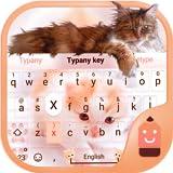 Cute Cat Theme&Emoji Keyboard