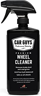 Wheel and Tire Cleaner  – Safe for all Wheels and Rims – Works on Alloy..