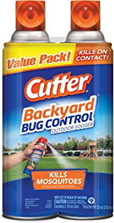 Cutter Backyard Bug Control Outdoor Fogger, 2/16-Ounce