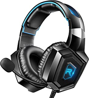 RUNMUS Stereo Gaming Headset for PS4, Xbox One, Nintendo Switch, PC, PS3, Mac, Laptop,..