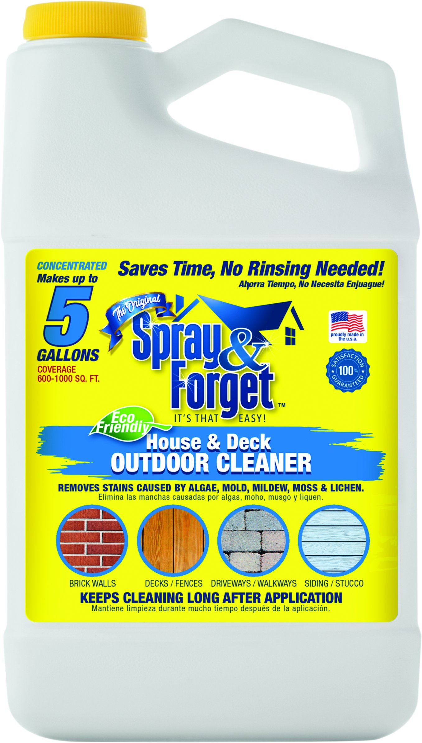 Spray Forget House Deck Cleaner Conc Buy Online In Cambodia At Desertcart