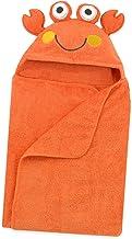 Just Born Love to Bathe Puppet Towel, Orange