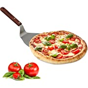 Relaxdays 60020492 Paletta Pizza, Alluminio, Antracite, 32x16.5x8 cm