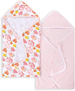 Burt's Bees Baby – Hooded Towels, Absorbent Knit Terry, Super Soft Single-Ply,..