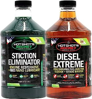Hot Shot's Secret – DDD Diesel Duo, 2qt STICTION Eliminator and 2qt Diesel Extreme