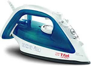 T-fal, Blue Steam, Ceramic Flat Iron, Scratch Resistant, Anti-Drip and Auto-Off System,..