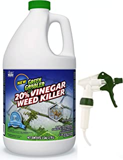 Green Gobbler Vinegar Weed & Grass Killer   Natural and Organic Weed & Grass..