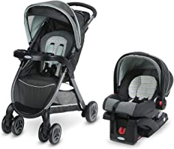 Graco FastAction Fold Travel System | Includes FastAction Fold Stroller and SnugRide 30..