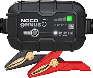 NOCO GENIUS5, 5-Amp Fully-Automatic Smart Charger, 6V And 12V Battery Charger, Battery..