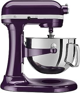 KitchenAid Professional 600 Series KP26M1XER Bowl-Lift Stand Mixer, 6 Quart, Purple Plumberry