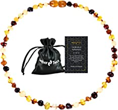 Baltic Amber Necklace (Unisex) – Certificated Natural Baltic Amber 13inch.