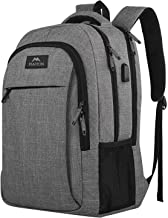 Travel Laptop Backpack, Business Anti Theft Slim Durable Laptops Backpack with USB..